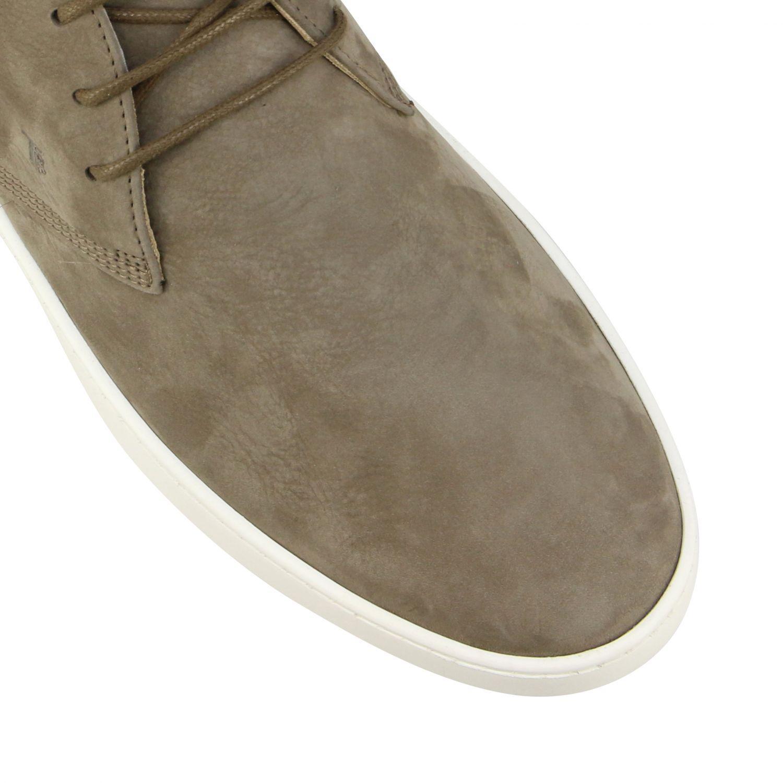 Tod's Sneakers aus Wildleder taubengrau 4