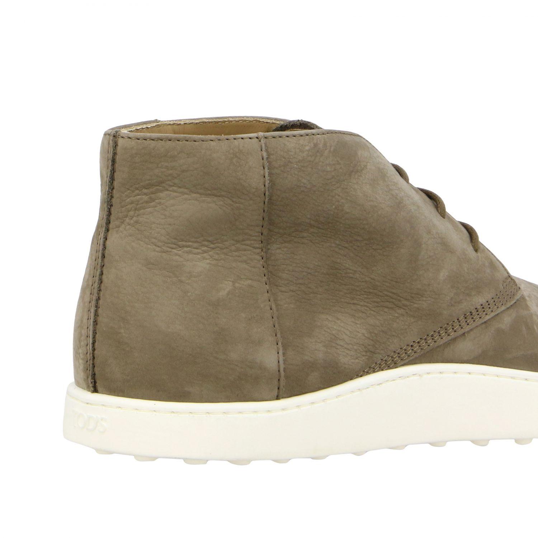 Tod's Sneakers aus Wildleder taubengrau 5