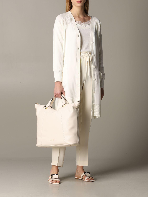针织开衫 女士 My Twin 白色 2
