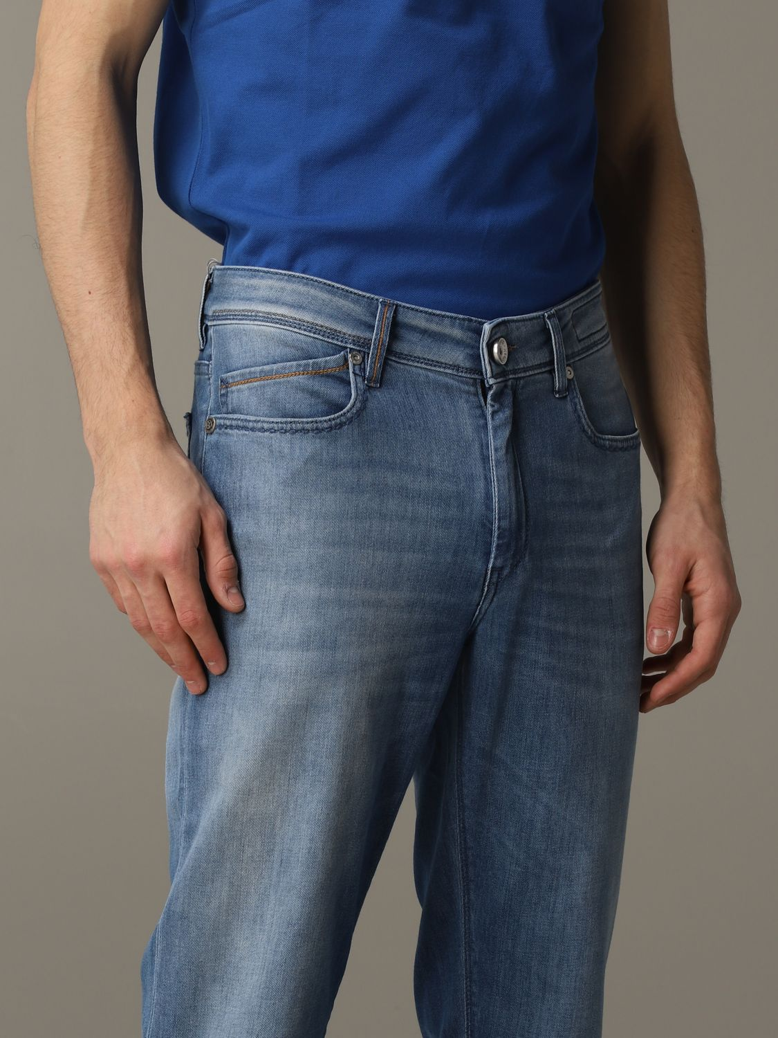 Jeans hombre Re-hash azul oscuro 5
