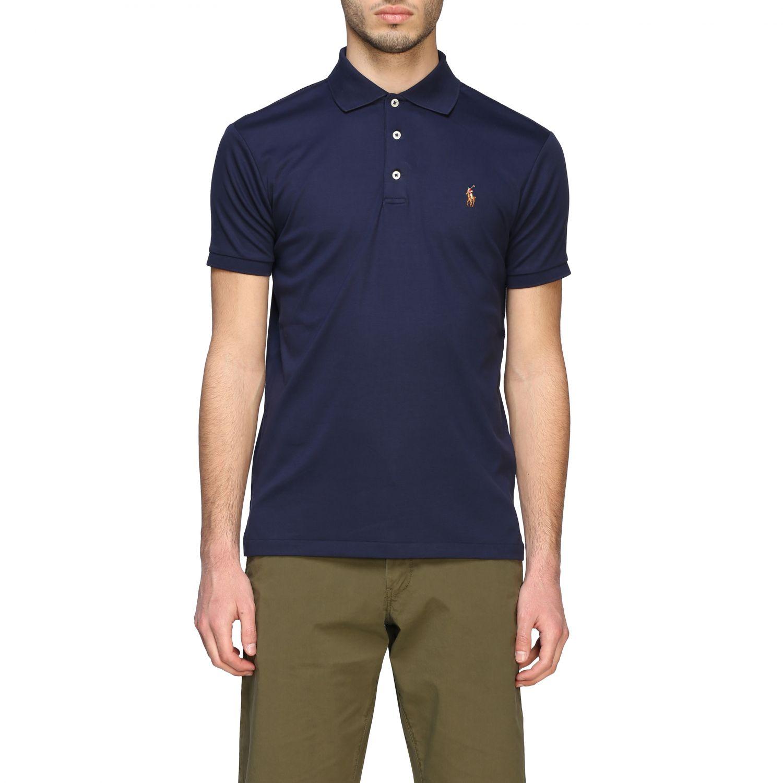 Polo Polo Ralph Lauren a maniche corte blue navy 1