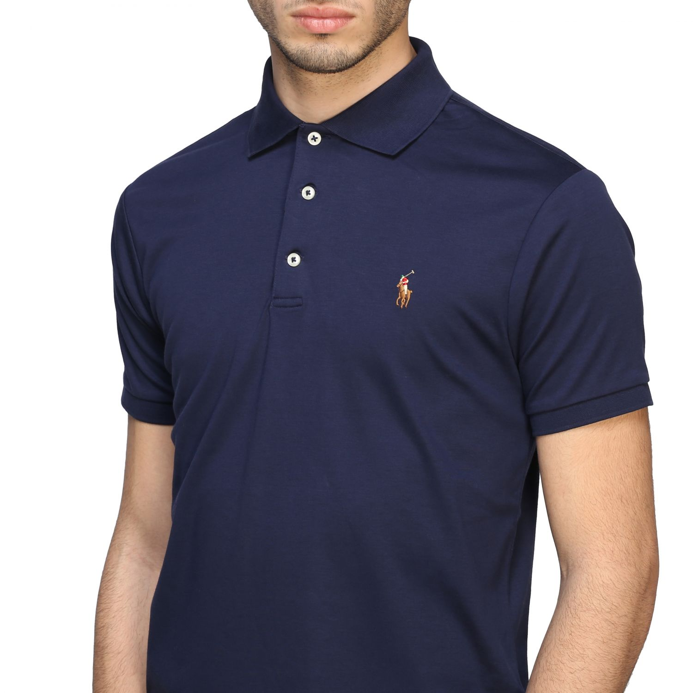 Polo Polo Ralph Lauren a maniche corte blue navy 4