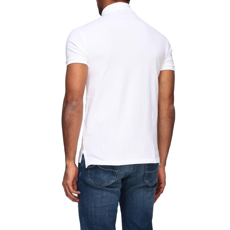 Polo Polo Ralph Lauren a maniche corte bianco 3