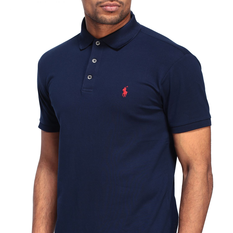 Polo Polo Ralph Lauren a maniche corte blue navy 5