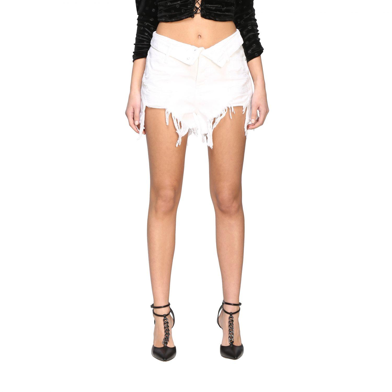 Short women Alexander Wang white 1