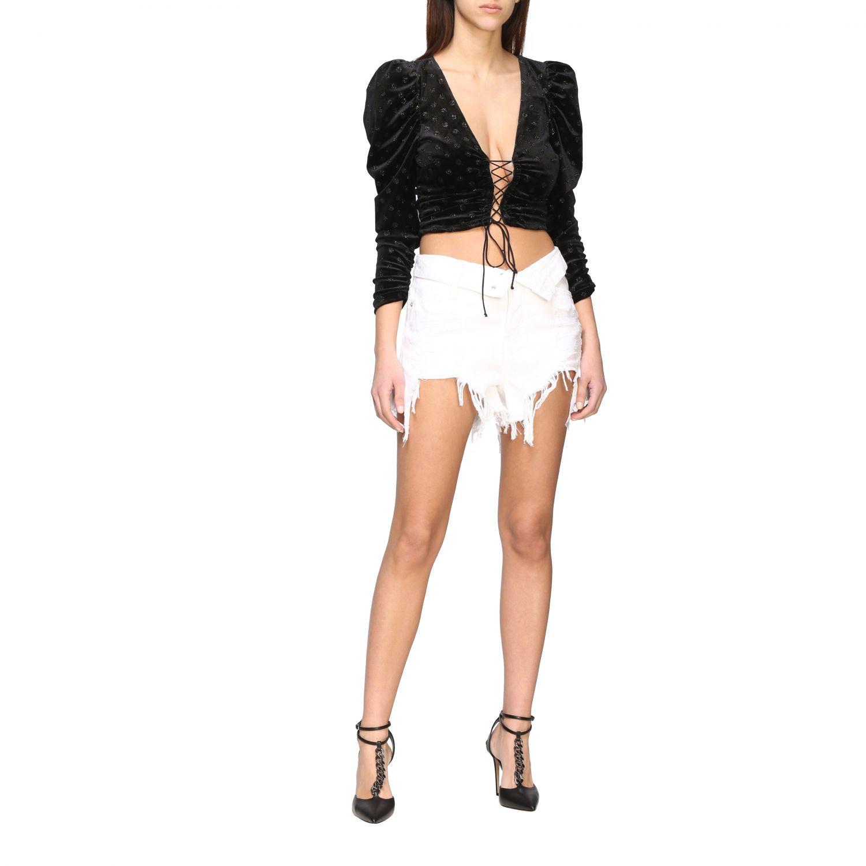 Short women Alexander Wang white 2