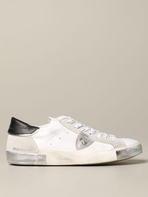 Zapatillas hombre Philippe Model blanco 1