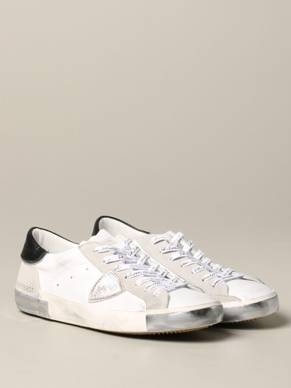 Zapatillas hombre Philippe Model blanco 2