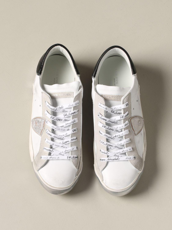 Zapatillas hombre Philippe Model blanco 3