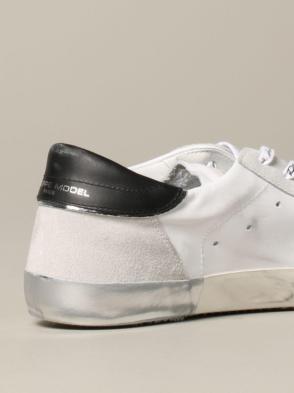 Zapatillas hombre Philippe Model blanco 5