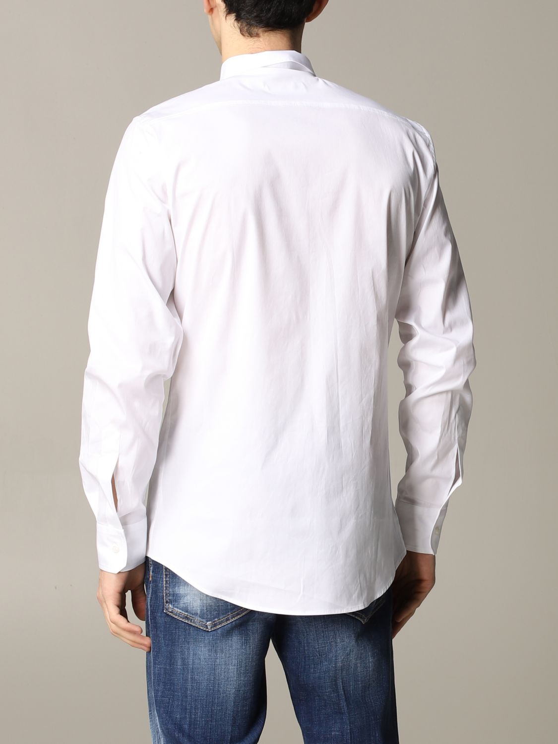 Shirt Dsquared2: Dsquared2 shirt with logo white 3