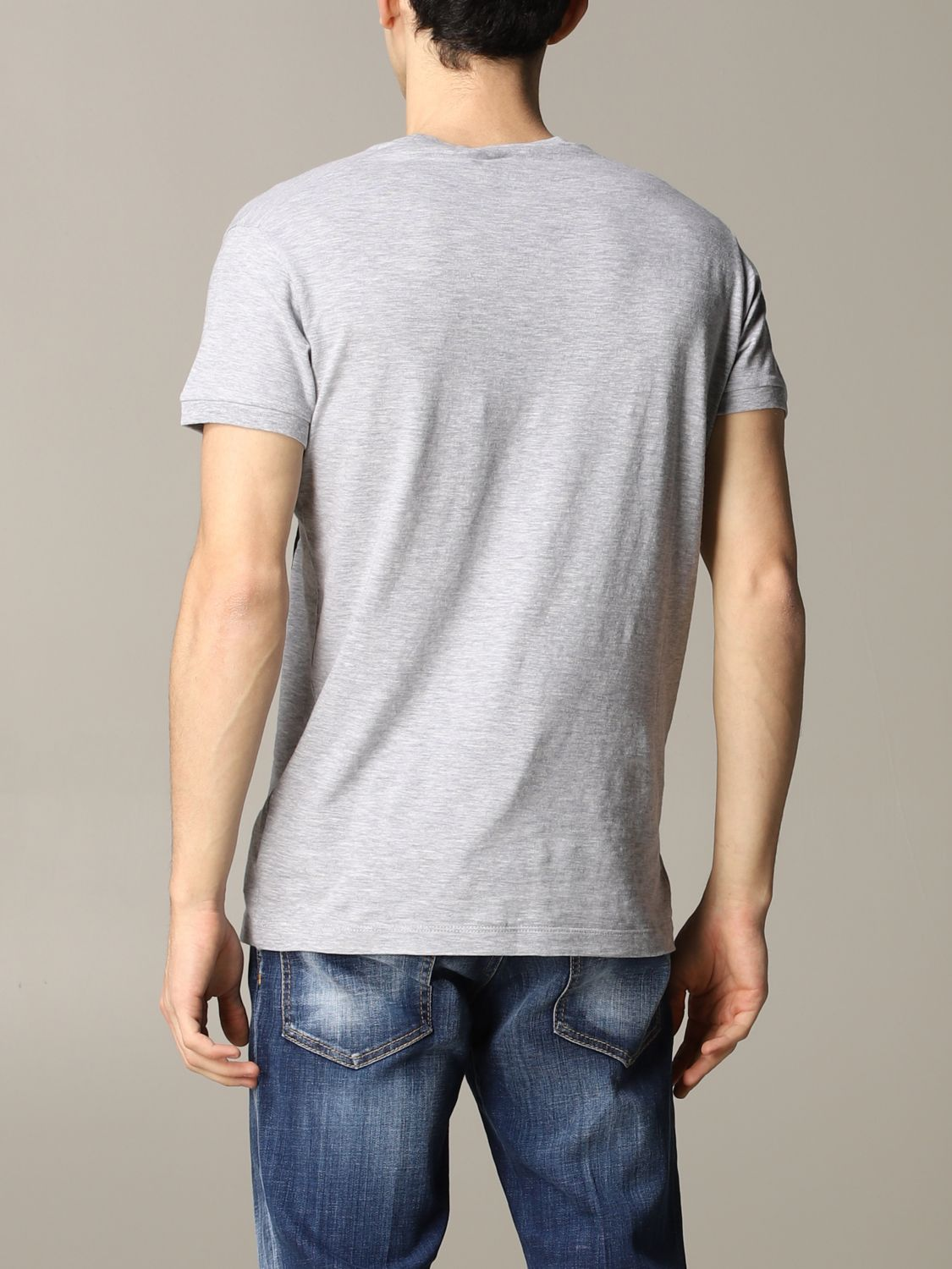 T-shirt Dsquared2: Dsquared2 short-sleeved T-shirt with logo grey 3