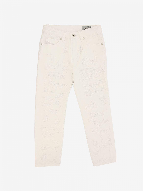 Diesel Hose mit 5 Taschen weiß 1