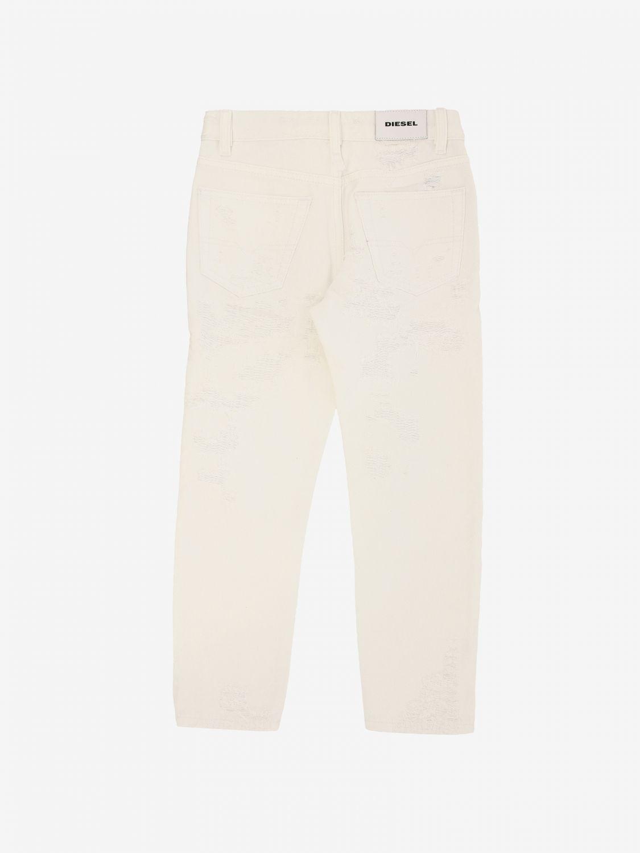 Diesel Hose mit 5 Taschen weiß 2