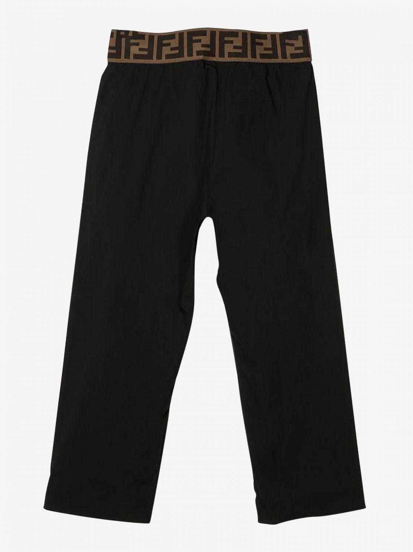 Pantalón Fendi: Pantalón niños Fendi negro 2