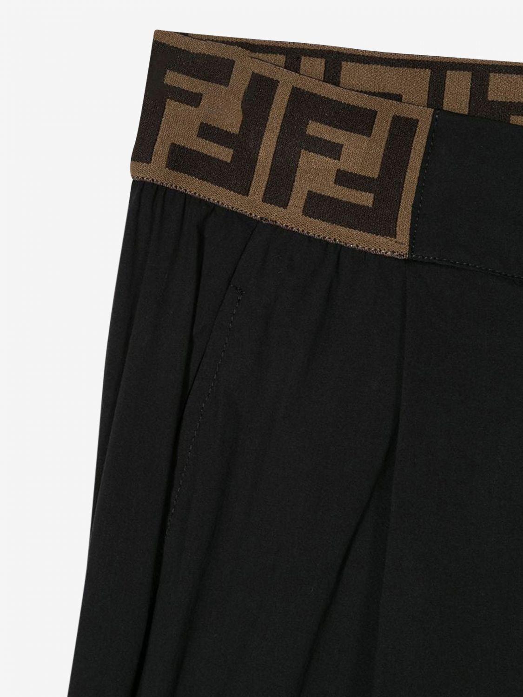 Pantalón Fendi: Pantalón niños Fendi negro 3