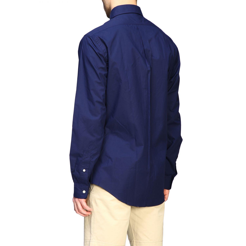 Camicia Polo Ralph Lauren con collo button down blue 3