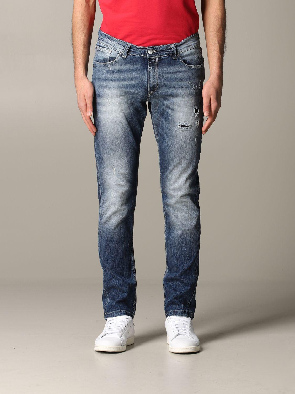 Jeans Daniele Alessandrini: Jeans herren Daniele Alessandrini denim 1