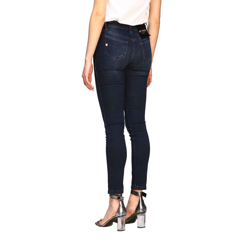 Jeans My Twin skinny fit a 5 tasche denim 3