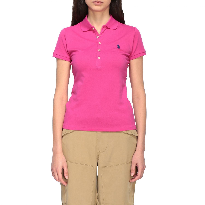 POLO衫 Polo Ralph Lauren: T恤 女士 Polo Ralph Lauren 紫红色 1