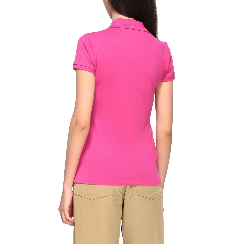 POLO衫 Polo Ralph Lauren: T恤 女士 Polo Ralph Lauren 紫红色 3