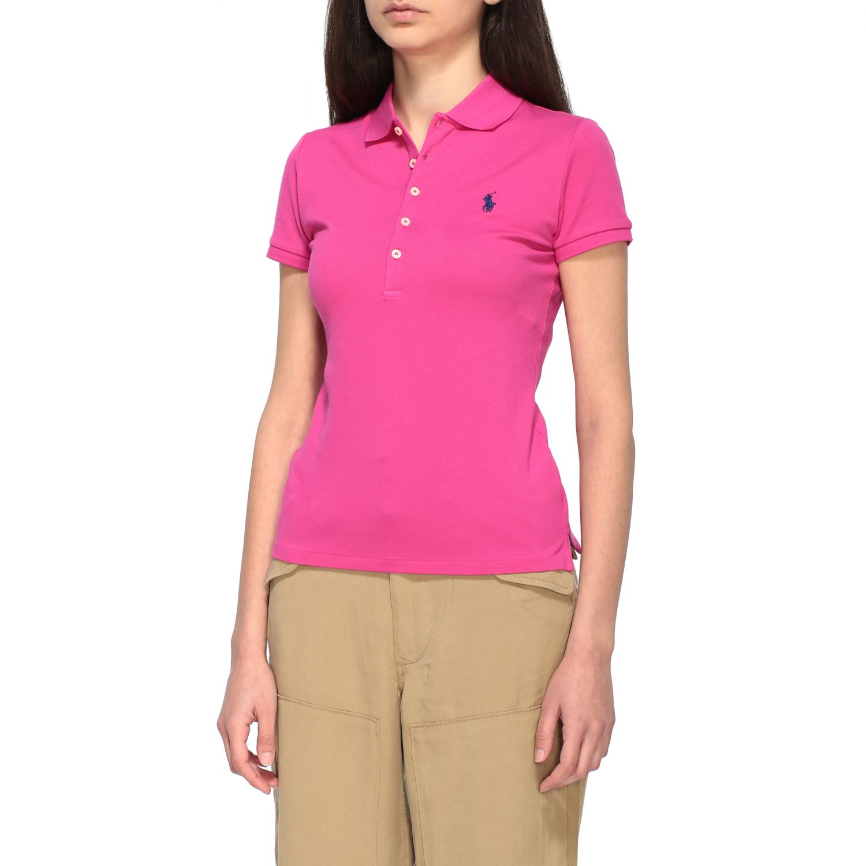 POLO衫 Polo Ralph Lauren: T恤 女士 Polo Ralph Lauren 紫红色 4