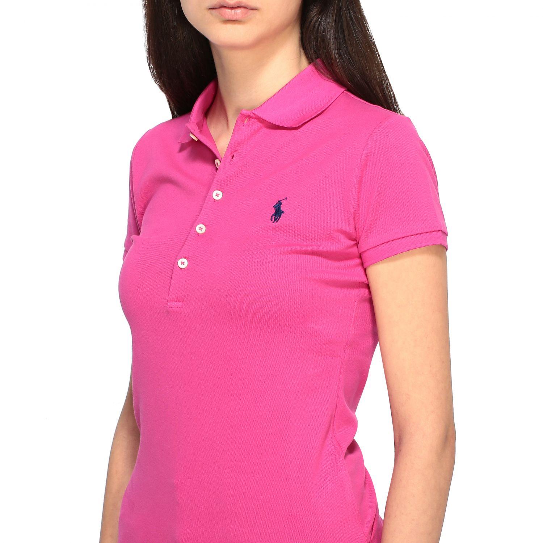 POLO衫 Polo Ralph Lauren: T恤 女士 Polo Ralph Lauren 紫红色 5