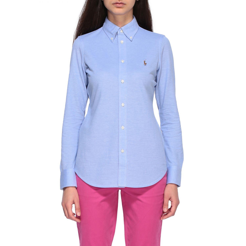 Polo Ralph Lauren 纽扣领衬衫 天蓝色 1