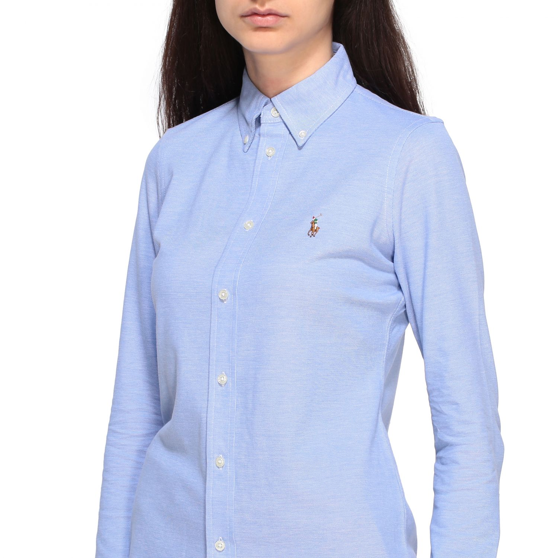 Polo Ralph Lauren 纽扣领衬衫 天蓝色 5