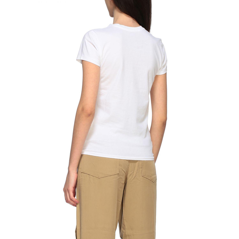 T-shirt Polo Ralph Lauren a girocollo con logo ricamato bianco 3