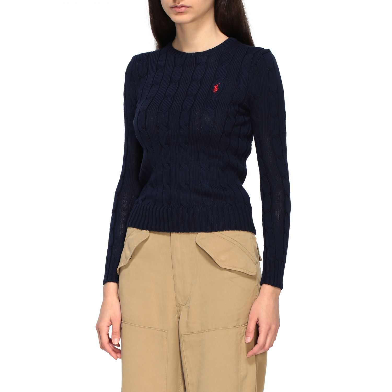 Sweater women Polo Ralph Lauren blue 4