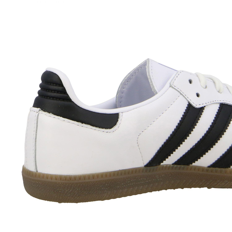 Sneakers Adidas Originals: Adidas Originals Samba sneakers in leather with logo white 5