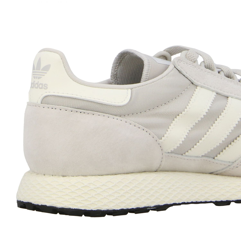 Forest Grove Adidas Originals Sneakers aus Mesh und Nabuk perle 5