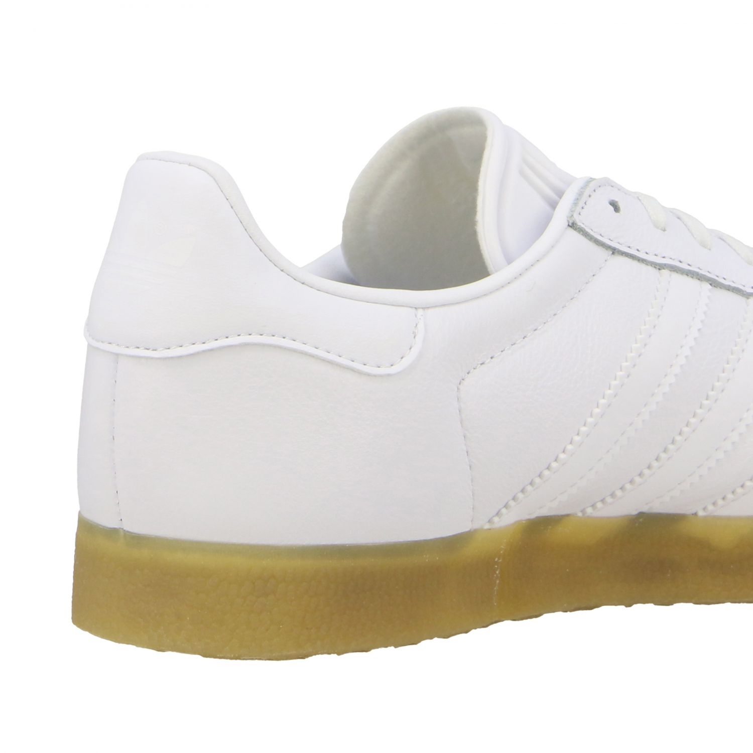 Sneakers Adidas Originals: Adidas Originals Gazelle leather sneakers with logo white 5