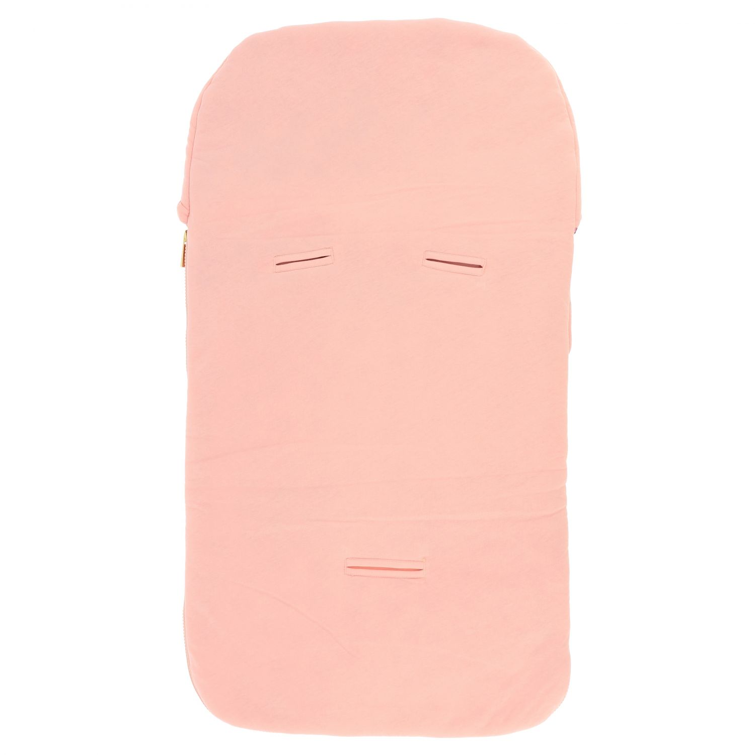 Moschino Baby sack blanket with teddy print pink 2
