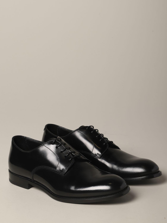 Schuhe herren Doucal's schwarz 2