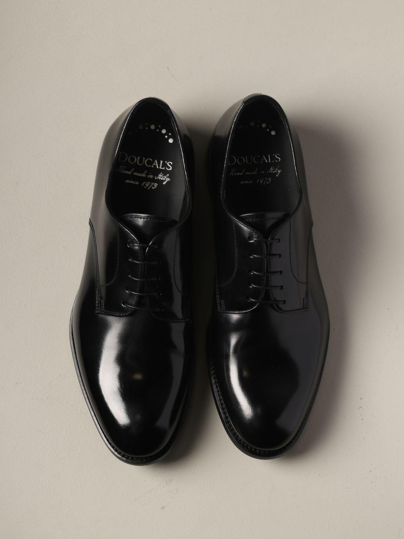 Schuhe herren Doucal's schwarz 3