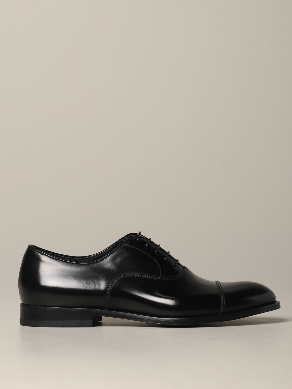 Brogue shoes Doucal's: Doucal's lace-up derby in leather black 1