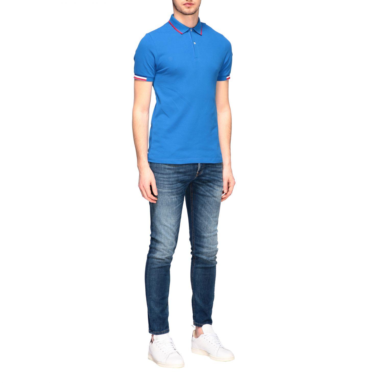 T-shirt homme Colmar bleu royal 2