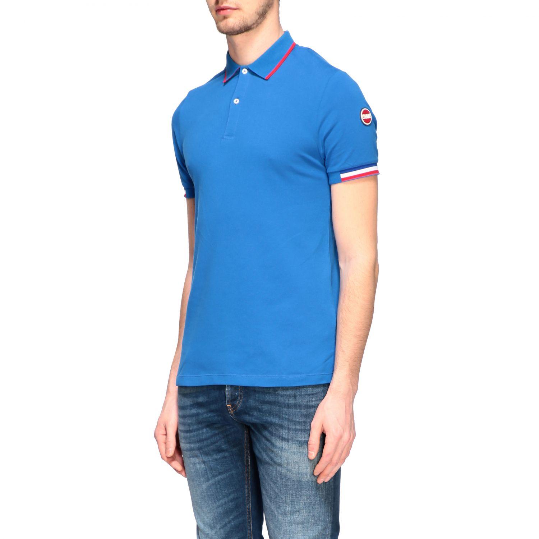 T-shirt homme Colmar bleu royal 4