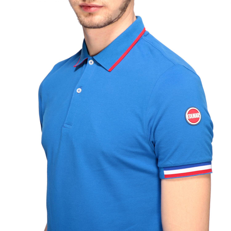 T-shirt homme Colmar bleu royal 5