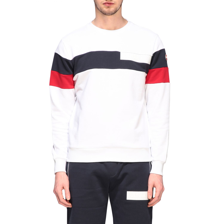 Sweatshirt homme Colmar blanc 1