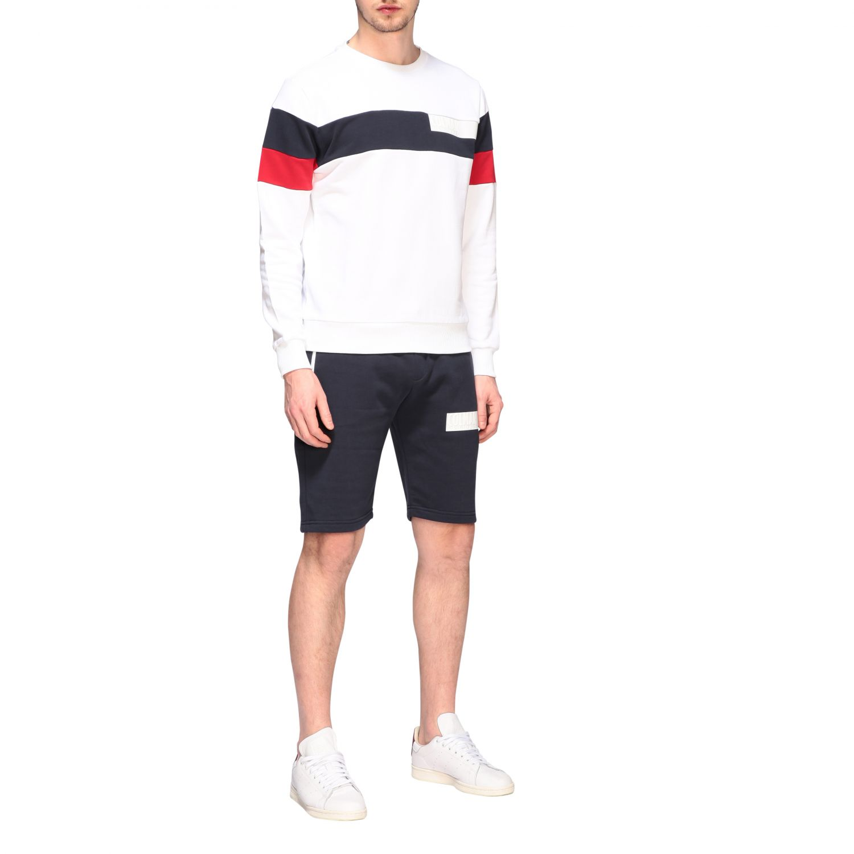 Sweatshirt homme Colmar blanc 2