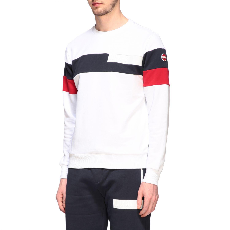 Sweatshirt homme Colmar blanc 4