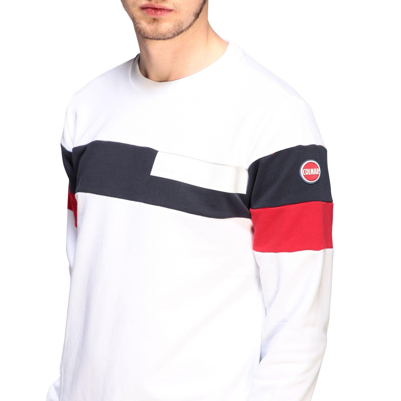 Sweatshirt homme Colmar blanc 5