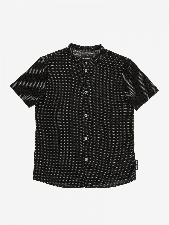 T-shirt kinder Emporio Armani schwarz 1