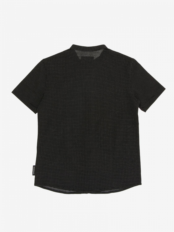 T-shirt kinder Emporio Armani schwarz 2