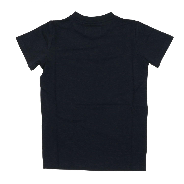 Camiseta Emporio Armani: Camiseta niños Emporio Armani azul marino 2