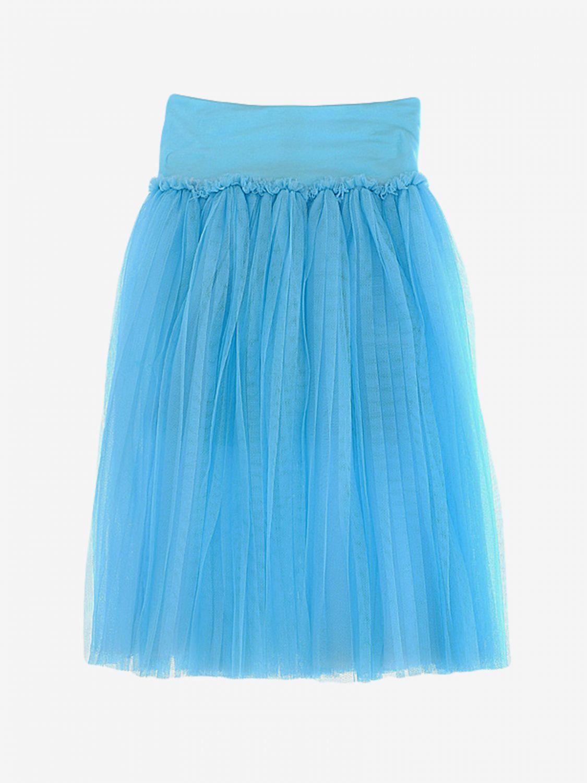 Skirt kids Monnalisa green 2
