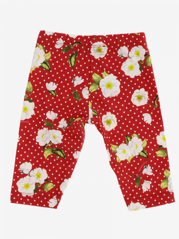 Pantalon enfant Monnalisa Bebe' rouge 2